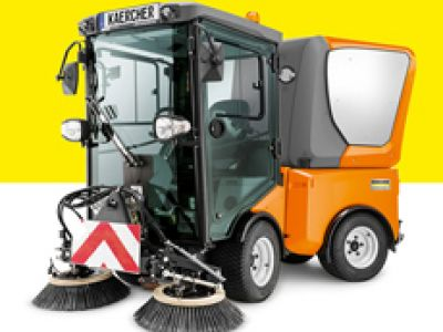 德国凯驰驾驶室清扫车